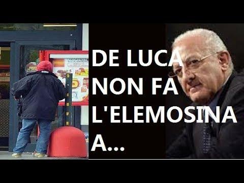 LO SCERIFFO Vincenzo De Luca ferma un africano davanti al supermercato e lo consegna ai vigili