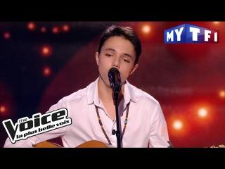 Шоу «Голос» Франция 2017. - 17-летний Джанни Би из Доминиканы с песней «Злая игра». —