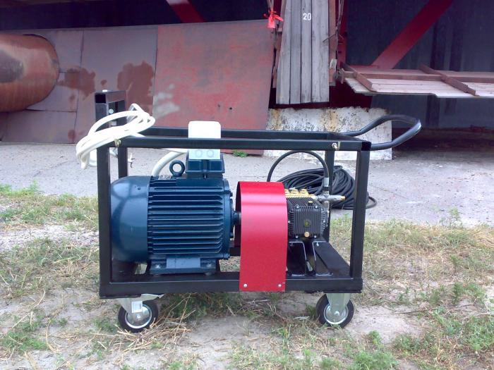 Гидропескоструйный аппарат высокого давления 350 бар, Харьков