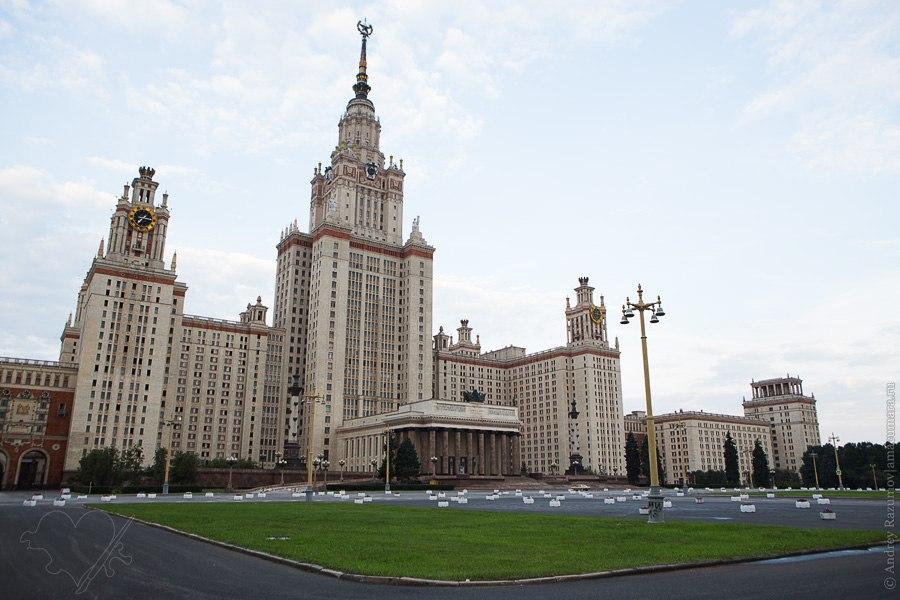 Москва МГУ Воробьевы горы