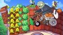 Растения против Зомби. Приключения на КРЫШЕ часть 3 .Plants vs Zombies