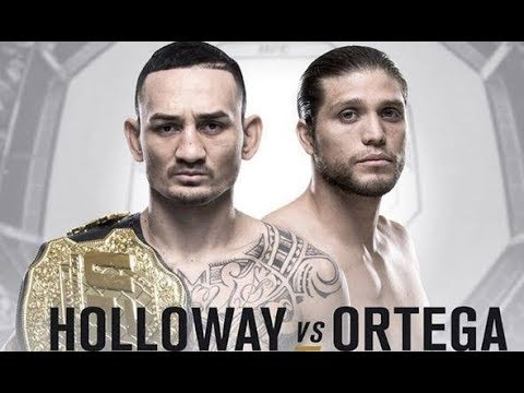 Max Holloway vs Ortega Full Fight Luta Completa