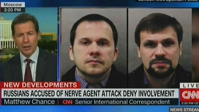 Алиби российских туристов вряд ли убедит британских следователей - CNN