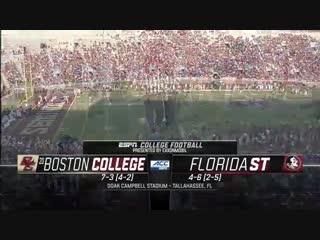 NCAAF 2018 Week 12 Boston College at Florida State