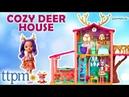 Enchantimals Cozy Deer House Playset - Danessa Deer Doll, Sprint Figure | Mattel Toys Games