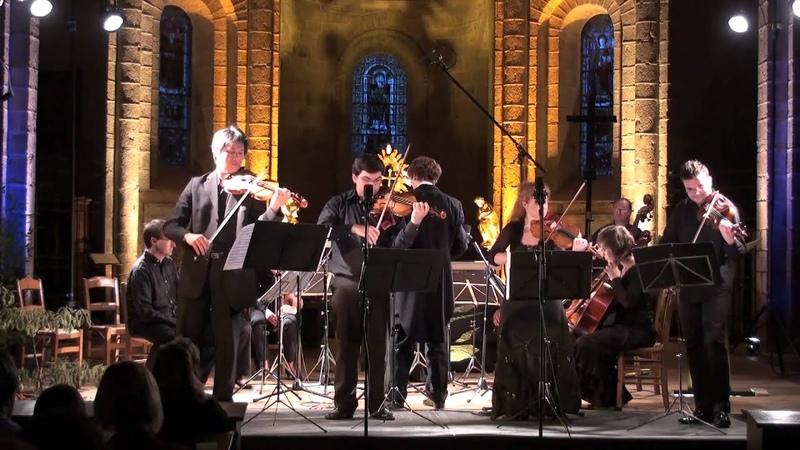 Vivaldi Concerto in B minor RV.580, for four violins - PhamGjeziDarmonTudorache - OCNEKrauze