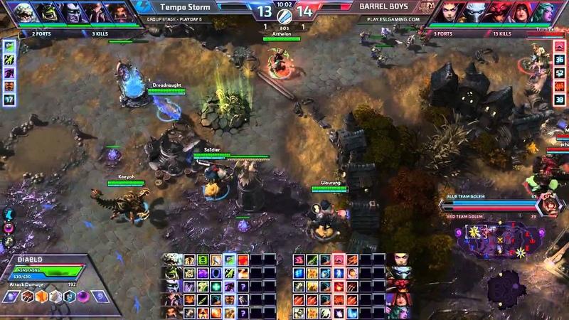 Tempo Storm vs BarrelBoys Gameday 6 Map 3