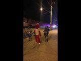 Elmo at the Great Philadelphia Trash Fire of 2018