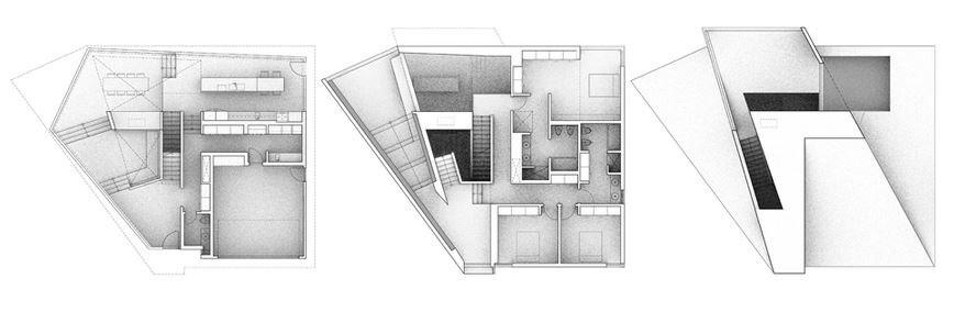 Hinge House in Toronto, Ontario - Williamson Chong