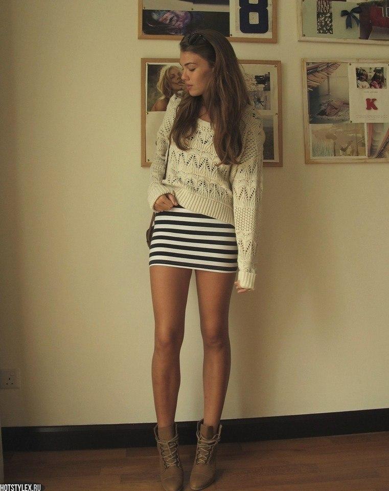 Модно одетые девушки