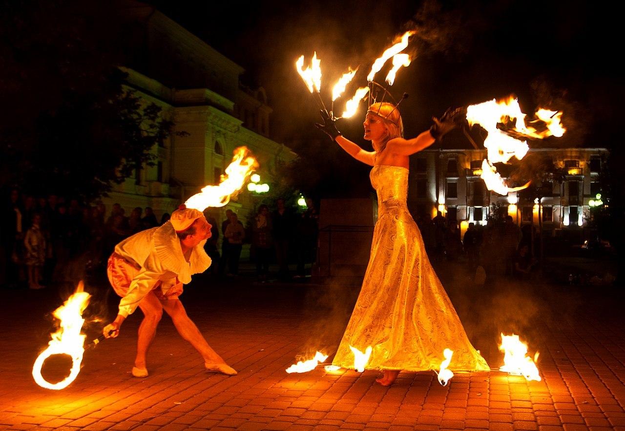 Как сделать фото с огнями
