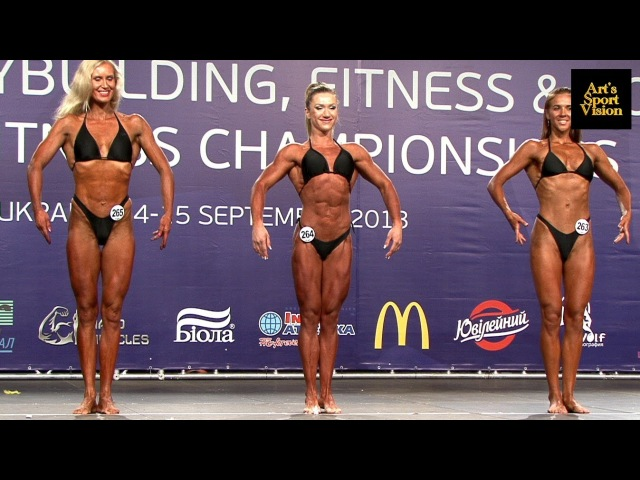 2013 World IFBB Women's ATHLETIC Fitness up to / over 163 cm - FULL