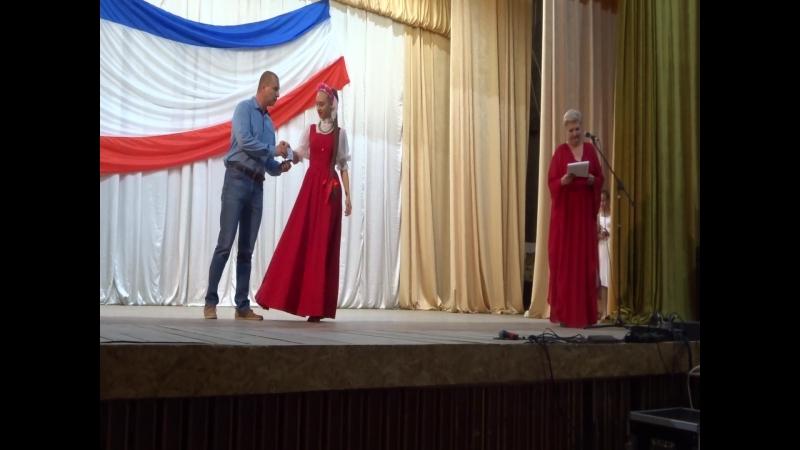 Вручение знаков отличия ГТО в Раздольненском районе на День флага РК