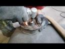 демонтаж подшипника компрессора кондиционера Chevrolet Van G20