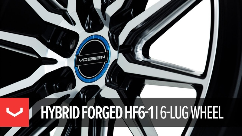 Vossen's all-new Hybrid Forged Wheel: the 6-lug HF6-1