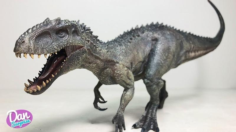 NEW! THE BEST INDOMINUS REX EVER! New Jurassic World Dinosaur Toy Figure from Nanmu Studio for Kids