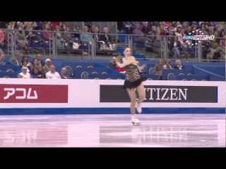 Jenna McCorkell 2012 Worlds SP