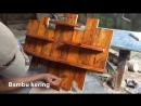 Полочка из старых досок очень просто от Bambu Kering