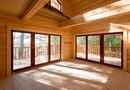 Все окна в доме - деревянные стеклопакеты с золотым расстеклением.  Такие окна обеспечивают отличную тепло...