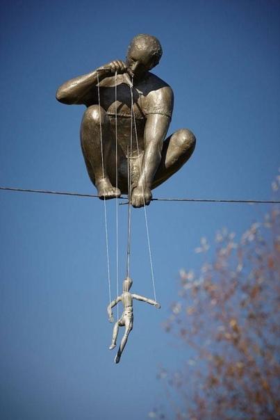 Искусство вне гравитации: скульптуры, над которыми не властны законы физики (Часть 2)