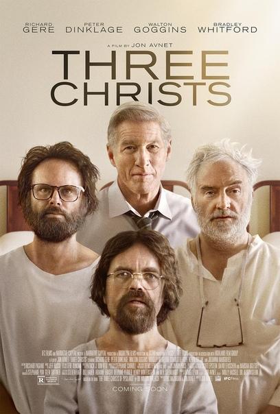 Первый постер байопика «Три Христа» с Ричардом Гиром в главной роли