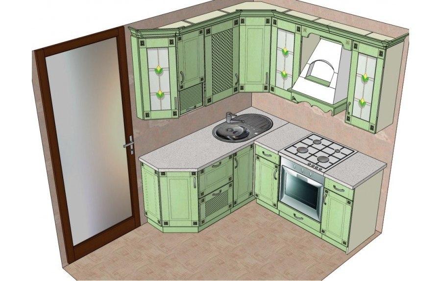 Дизайн кухни в корабле фото