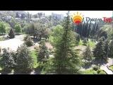 jamtour.org Дом отдыха Солнечный (Гагра, Абхазия) вид с балкона на море и территорию