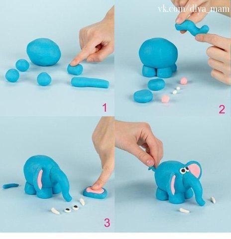 Лепка из пластилина — прекрасное занятие для малыша!