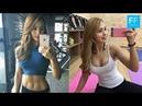 綺麗な腹筋、可愛いルックスの美人トレーナーのトレーニング風景/Kim-Ji-Soo 12