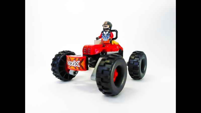 🎲 Конструктор Гоночный Джип Скоростная Сборка почти Lego ✔️