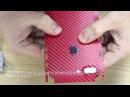 Защитная карбоновая Броня для iPhone 8 Plus и iPhone 7 plus (пленка айфон 8 плюс, стекло айфон 8)