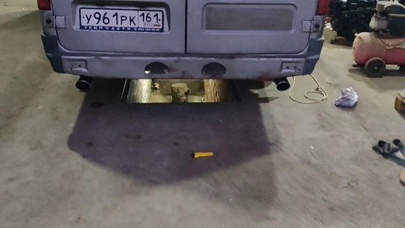 Газель 3UZ FE выхлоп BMW 6 series от BRM