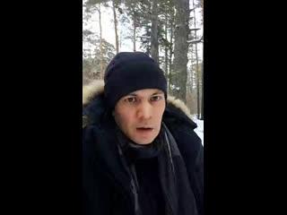 Лыжня обгэс. у моря обского