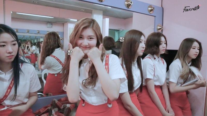 [Favorite] Favority 4 대기실 재롱타임♡(Waiting room Cute trick Time)