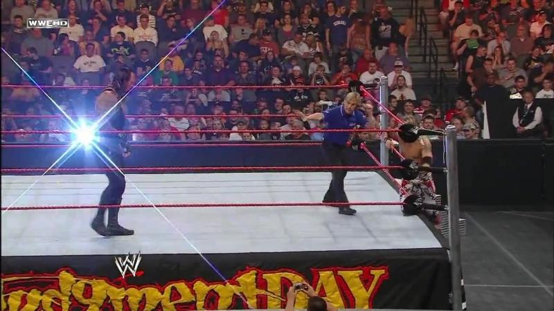 The Undertaker vs. Edge Judgement Day 2008