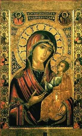 икону Пресвятой Богородицы