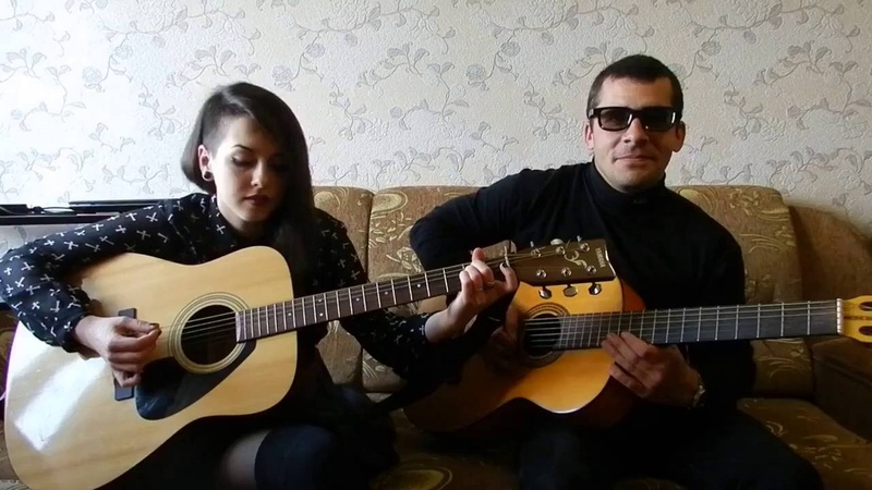 KADEBOSTANY Castle In The Snow (Instrumental acoustic guitar version) Cover Павел и Елена