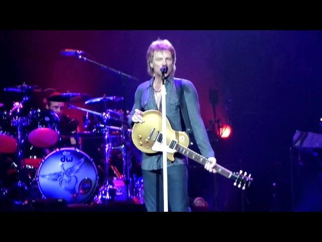 Bon Jovi Concert April 5 2013 Winnipeg MB Canada - Start Me Up - keels vision