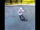 Skateboarding grandma