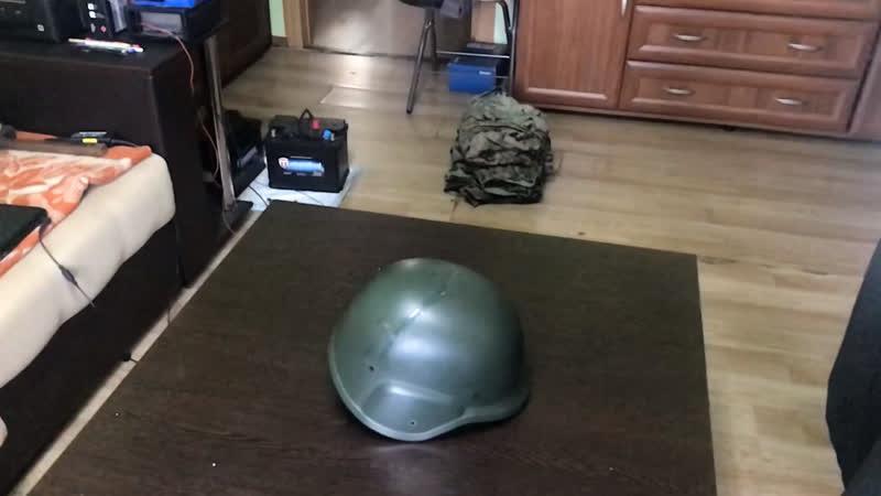 Хреначим шлем