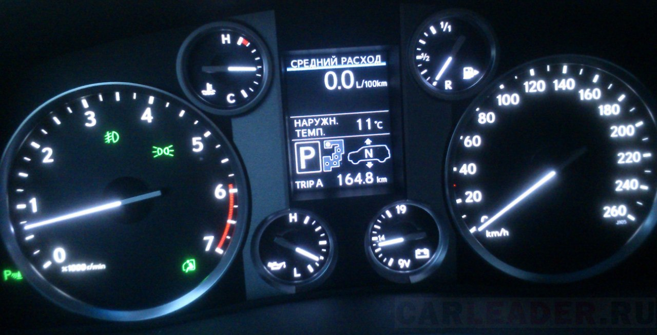 Замечательный сон: 5.7-литровый двигатель Lexus LX кушает 0 литров!