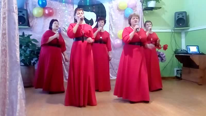 Группа Секрет с песней Разбросала косы русые берёза....
