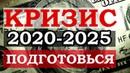 Прогноз по мировому кризису 2020 2025 Подготовься Доллар США евро рубль и юань