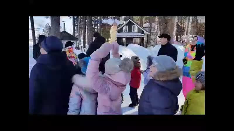 Проводы зимы Старая Пристань 2019