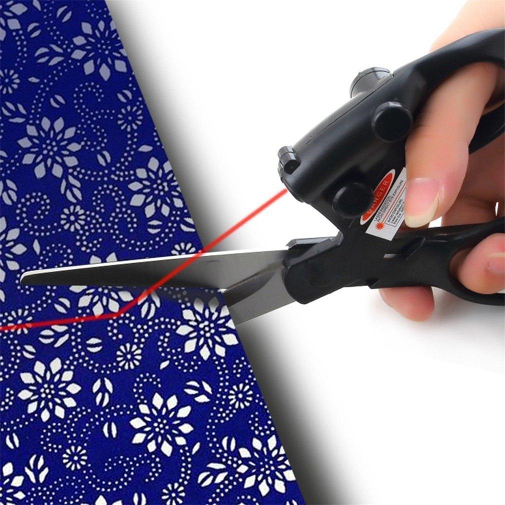 Ножницы с лазерным прицелом -