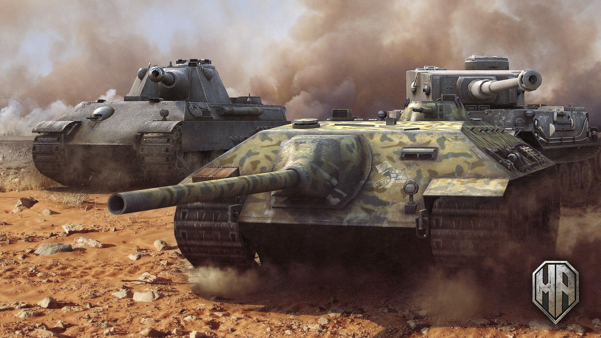 Рисунок Panther II, E-25 & Tiger P на рабочий стол | Игровые War ...