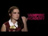Интервью для «Made in Hollywood» в рамках промоушена фильма «Академия вампиров» (2 февраля, 2014)