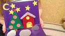 Птичка на елку, куколка из пятерочки и новогодняя открытка в садик.