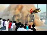 Horrible drifting accident-Saudi Arabia- 25 5 2012