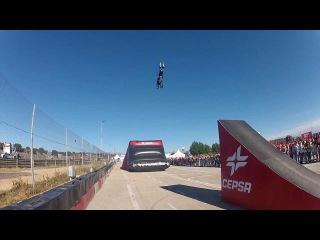 Cepsa Freestyle Motocross - GP camiones Jarama 2013